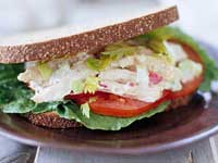 Zesty Lemon-Chicken Salad Sandwiches
